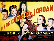 James Montgomery Art - Here Comes Mr. Jordan, James Gleason by Everett