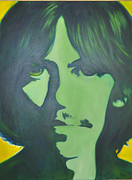 George Harrison Painting Originals - Here Comes The Sun by Mitchell Todd
