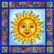 Corwin Paintings - Here Comes the Sun by Pamela  Corwin