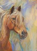 Rocky Mountain Horse Framed Prints - Here Comes Thunder Framed Print by Debbie Anderson
