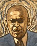 Republican Paintings - Herman Cain by Jeremiah Cook
