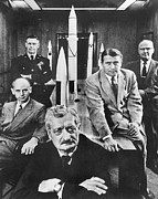 Hermann Photos - Hermann Oberth (1894-1989) by Granger