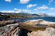 Rocky Shore Prints - Hermanus coastline Print by Fabrizio Troiani