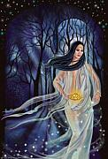 Goddess Art Prints - Hermit Print by Pamela Wells