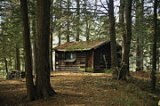 Get Away Photos - Hermitage Cabin by John Greim
