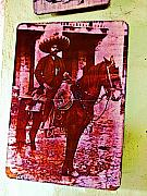 Michael Posters - Hero on Horseback by Michael Fitzpatrick Poster by Olden Mexico