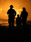 Fireman Photos - Heroes at Work by Benanne Stiens