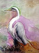 Peach Originals - Heron Serenity by Lil Taylor
