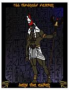 Heru The Elder Print by Derrick Colter