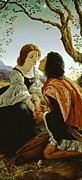 Marry Posters - Hesperus the Evening Star Sacred to Lovers Poster by Sir Joseph Noel Paton