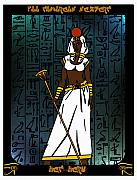 Hathor Prints - Het-Heru Print by Derrick Colter