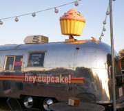 Lucky Larue Art - Hey Whazzz Up Cupcake by Lucky LaRue