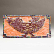 Woodcarving Reliefs Originals - Hi-oh Silver Away by James Neill