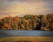 Autumn Landscape Framed Prints - Hidden Cove Framed Print by Jai Johnson