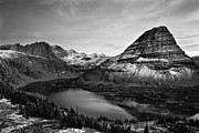 Black And White Photography Metal Prints - Hidden Lake Metal Print by Jesse Estes