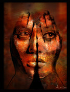 Hidden Face Digital Art - HIdden by Leanne M Williams