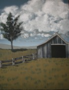 Old Barn Paintings - Hidden Secrets by Jeanette Jenkins