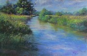 Waters Pastels - Hidden Waters by Bill Puglisi