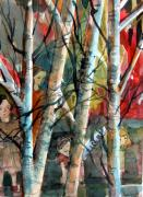 Birch Trees Originals - Hide and Go Seek by Mindy Newman