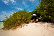 Beds Photos - Hideaway. Maldivian Beach by Jenny Rainbow
