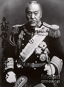 Famous Person Portrait Posters - Hideki Tojo Poster by Photo Researchers