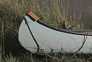 Canoe Metal Prints - High And Drying Metal Print by Odd Jeppesen