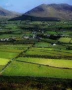 Mourne Prints - High Angle View Of Buildings In A Print by The Irish Image Collection