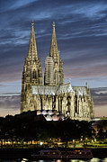 Architecture Prints - High Cathedral of Sts. Peter and Mary in Cologne Print by Heiko Koehrer-Wagner