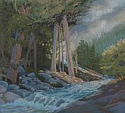 National Pastels Originals - High Country Colorado by Heather Coen