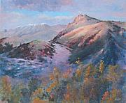 Fall Color Painting Posters - High Country Weather Poster by Don Trout