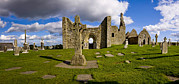 Scriptures Posters - High Cross At Clonmacnoise, County Poster by Chris Hill