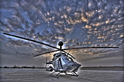 Attack Helicopters Framed Prints - High Dynamic Range Image Framed Print by Terry Moore