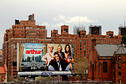 Movie Posters Photos - High Line Park 1 by Andrew Fare