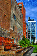 High Line Park Scene Print by Randy Aveille
