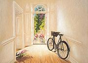 Interior Pastels Posters - High Nellie Poster by Vanda Luddy