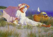 Copley Paintings - High on a Dune by Candace Lovely
