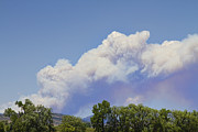 Larimer County Art - High Park Fire Larimer County Colorado  by James Bo Insogna