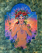 Numinous Prints - High Priestess Print by Keith Stillwagon