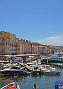 St.tropez Photo Framed Prints - High Season Framed Print by Corinne Rhode