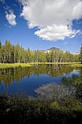 High Sierras Lake Print by Bonnie Bruno