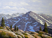 Snow Capped Originals - High Sierras Study by Frank Wilson
