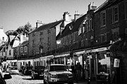 High Street Photos - High Street South Queensferry Scotland Uk United Kingdom by Joe Fox