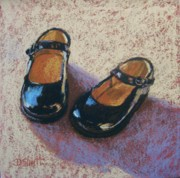 Donna Shortt Metal Prints - High Style-Little Girl Metal Print by Donna Shortt