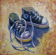 Donna Shortt Acrylic Prints - High Tops Acrylic Print by Donna Shortt