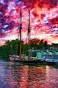 Port Huron Digital Art Posters - Highlander Sea Poster by Paul Bartoszek