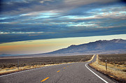 Lane Photo Prints - Highway 130 To Minersville Print by Utah-based Photographer Ryan Houston
