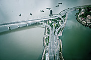 City Life Prints - Highway In City Print by Yiu Yu Hoi