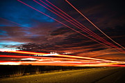 Awesome Photo Originals - Highway lights by Terrence Largo