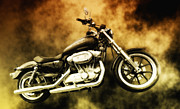 Motorcycle Art - Highway To Hell by Bill Cannon