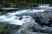 Travel Alberta Prints - Highwood River Print by Bob Christopher
